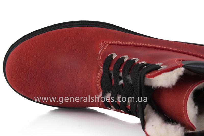 Женские зимние ботинки GL 150 кожаные фото 7