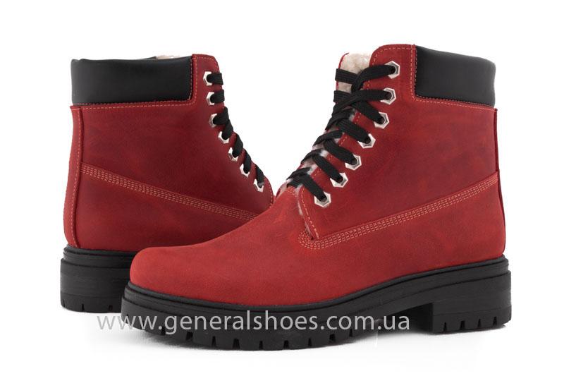 Женские зимние ботинки GL 150 кожаные фото 9