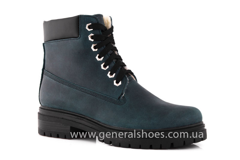 Женские зимние ботинки GL 151 кожаные фото 2