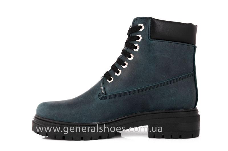 Женские зимние ботинки GL 151 кожаные фото 5
