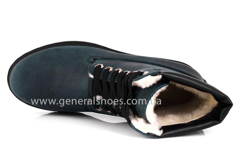 Женские зимние ботинки GL 151 кожаные фото 6