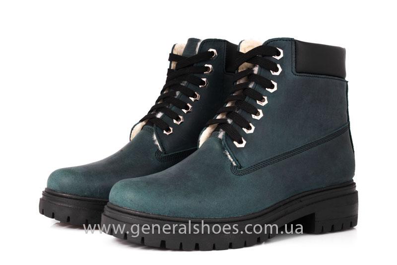 Женские зимние ботинки GL 151 кожаные фото 7