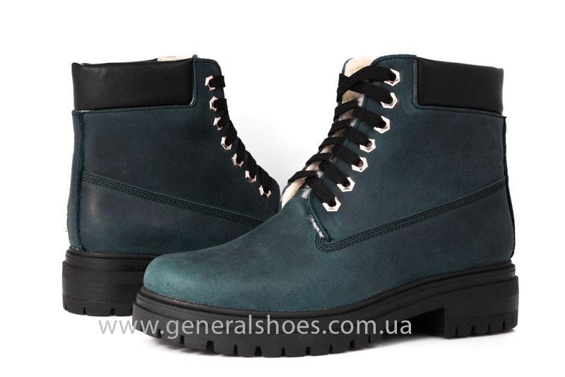 Женские зимние ботинки GL 151 кожаные фото 8