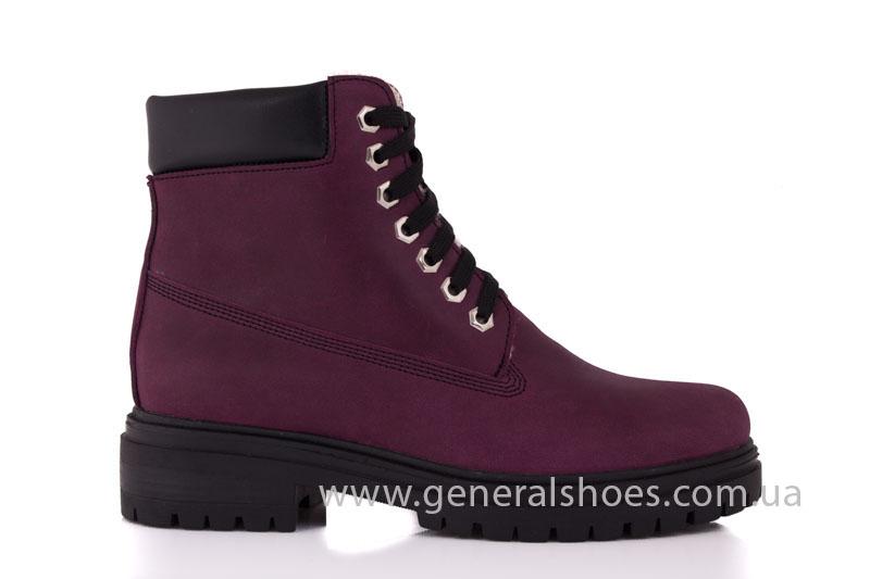 Женские зимние ботинки GL 152 кожаные фото 2