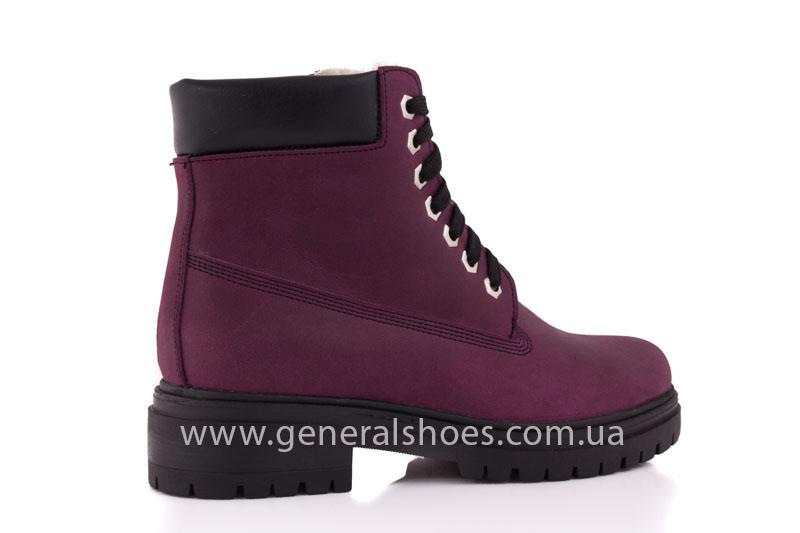 Женские зимние ботинки GL 152 кожаные фото 3