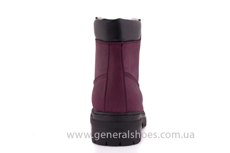 Женские зимние ботинки GL 152 кожаные фото 4