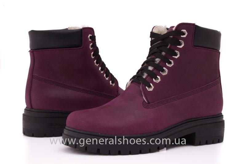Женские зимние ботинки GL 152 кожаные фото 6