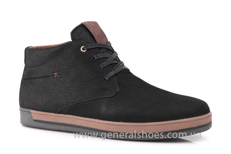 Зимние мужские ботинки Falcon 12719 черные фото 1