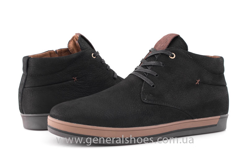 Зимние мужские ботинки Falcon 12719 черные фото 10