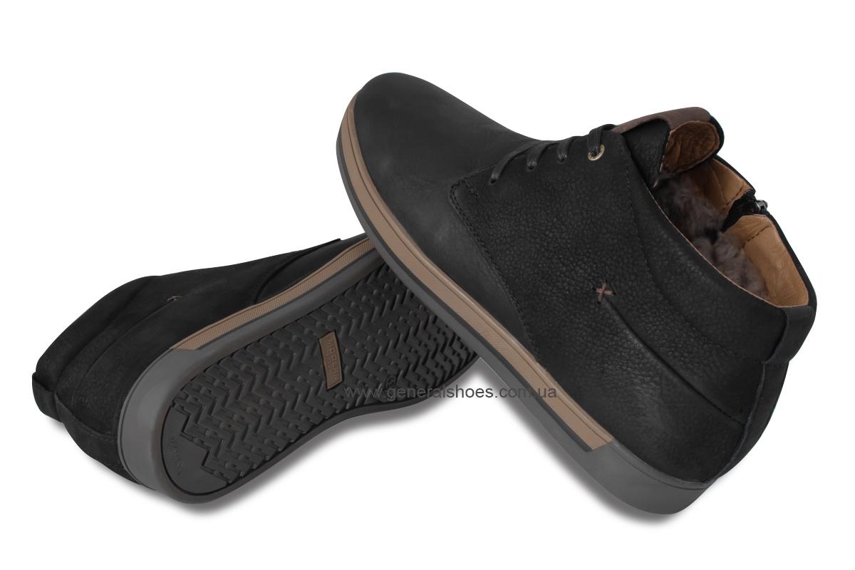 Зимние мужские ботинки Falcon 12719 черные фото 2