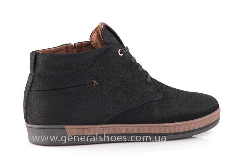 Зимние мужские ботинки Falcon 12719 черные фото 3