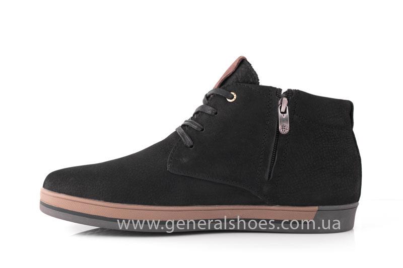 Зимние мужские ботинки Falcon 12719 черные фото 4