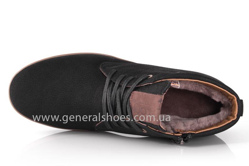 Зимние мужские ботинки Falcon 12719 черные фото 5