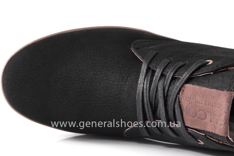 Зимние мужские ботинки Falcon 12719 черные фото 6