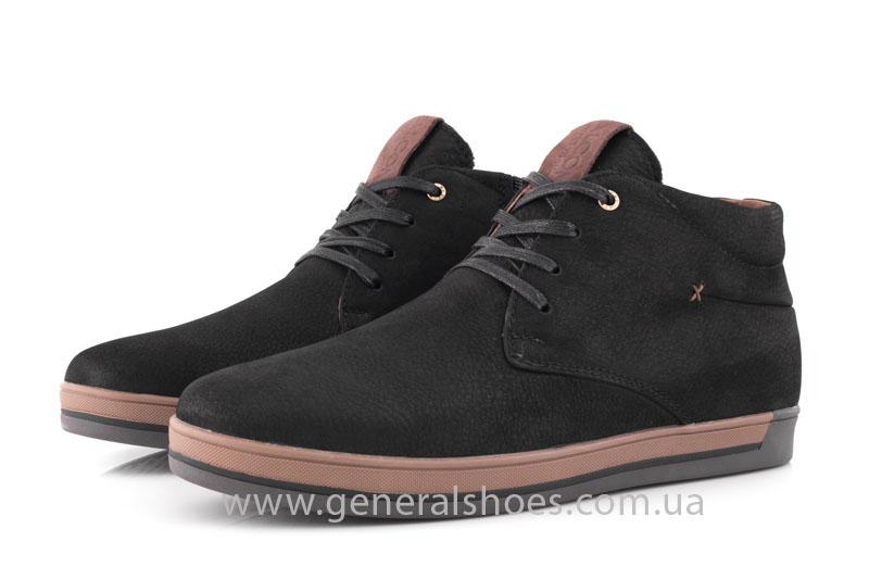 Зимние мужские ботинки Falcon 12719 черные фото 8