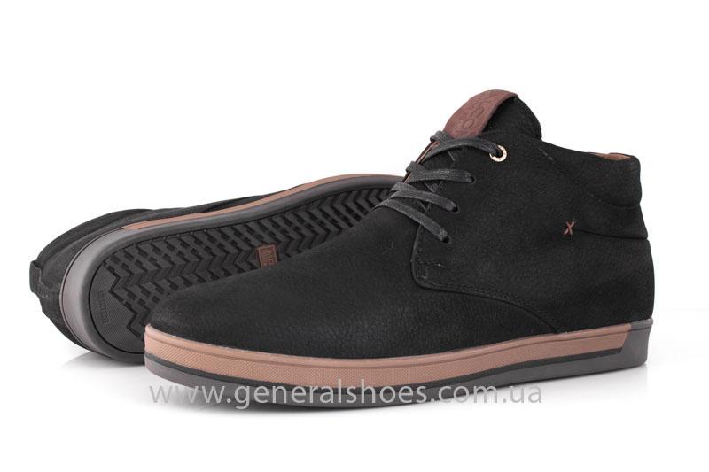 Зимние мужские ботинки Falcon 12719 черные фото 9