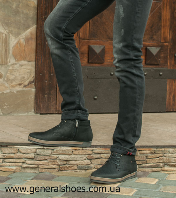 Зимние мужские ботинки Falcon 12719 черные