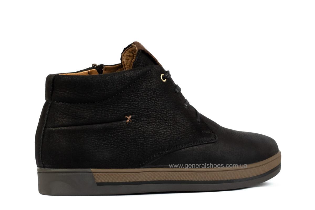 Зимние мужские ботинки Falcon 12719 кожаные фото 2