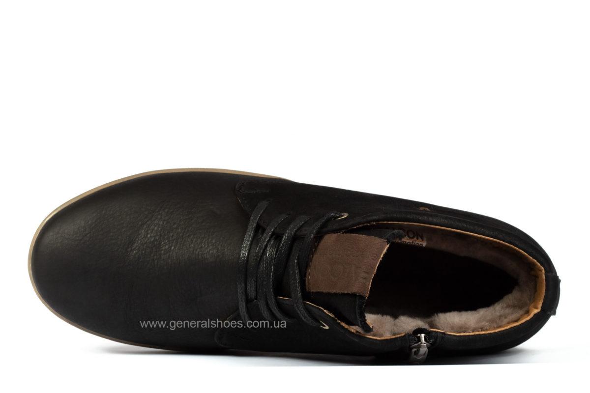 Зимние мужские ботинки Falcon 12719 кожаные фото 3