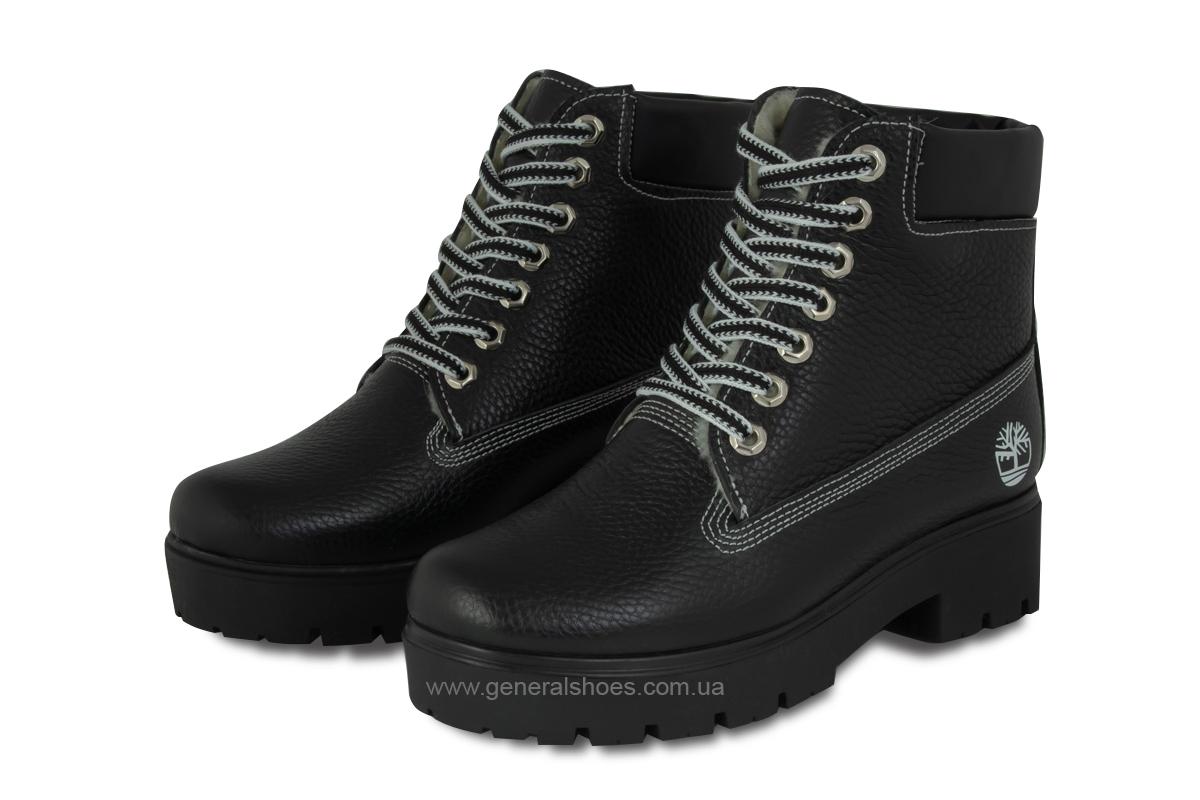 Зимние женские ботинки черные GL 07 фото 1