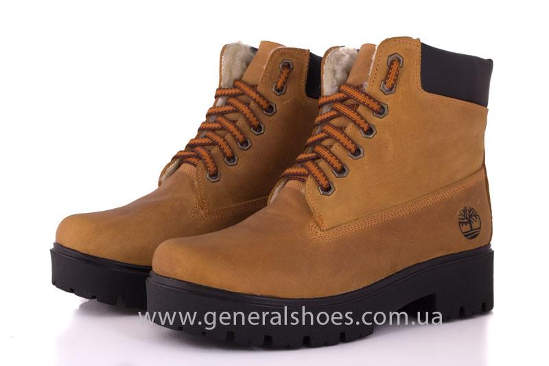 Зимние женские ботинки кожаные GL 07 фото 1