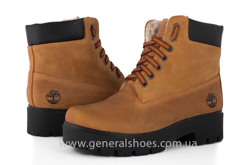 Зимние женские ботинки кожаные GL 07 фото 2