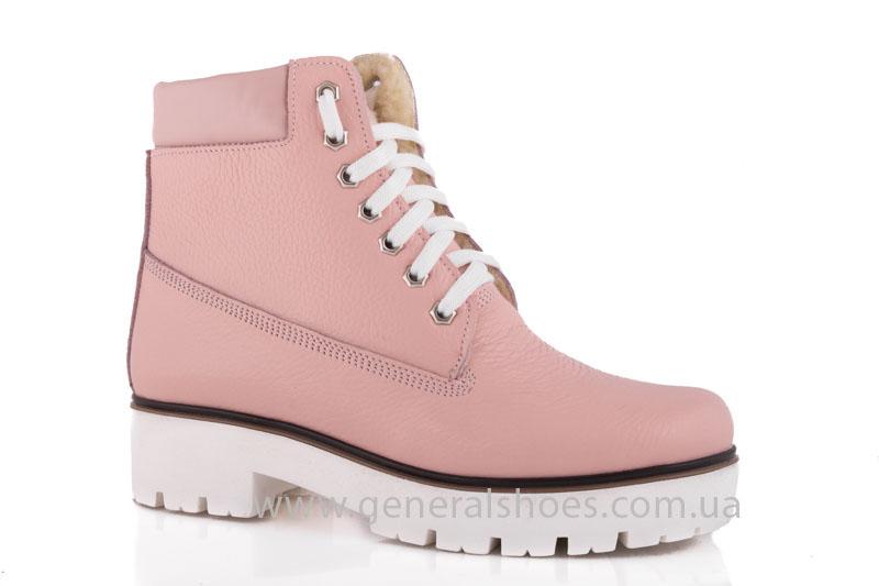Зимние женские ботинки розовые GL 05 фото 1