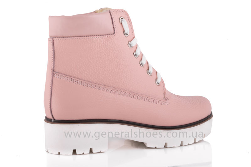 Зимние женские ботинки розовые GL 05 фото 3