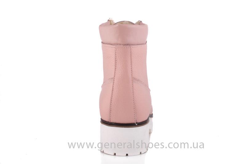 Зимние женские ботинки розовые GL 05 фото 4