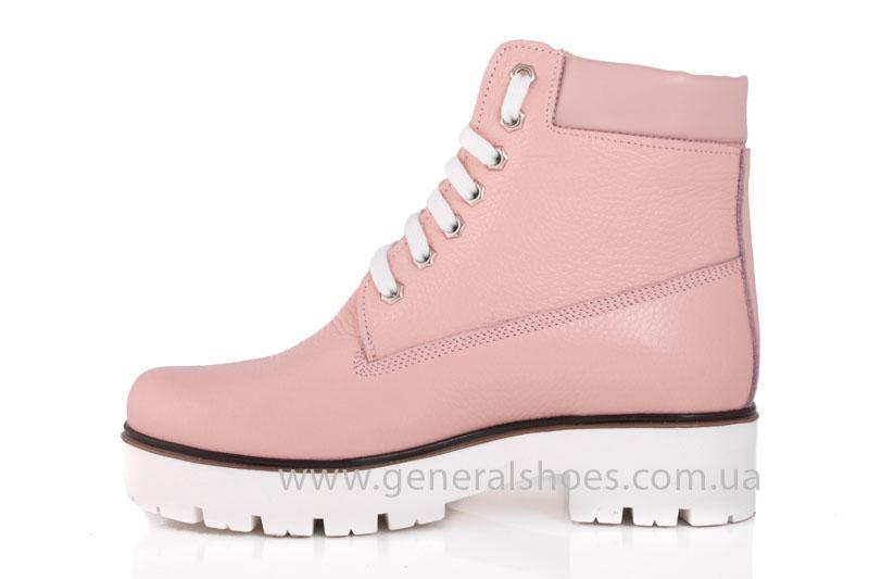 Зимние женские ботинки розовые GL 05 фото 5