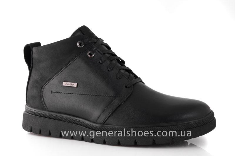 Мужские зимние ботинки Gex кожаные фото 1