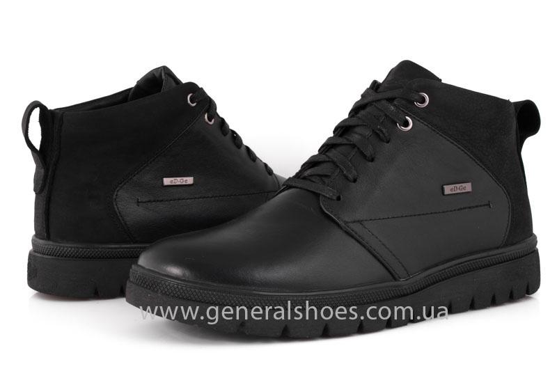 Мужские зимние ботинки Gex кожаные фото 10