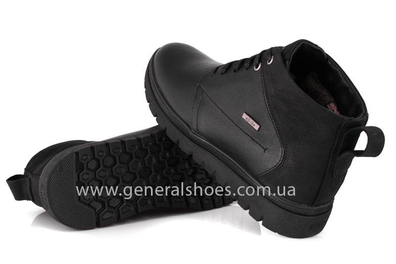 Мужские зимние ботинки Gex кожаные фото 11