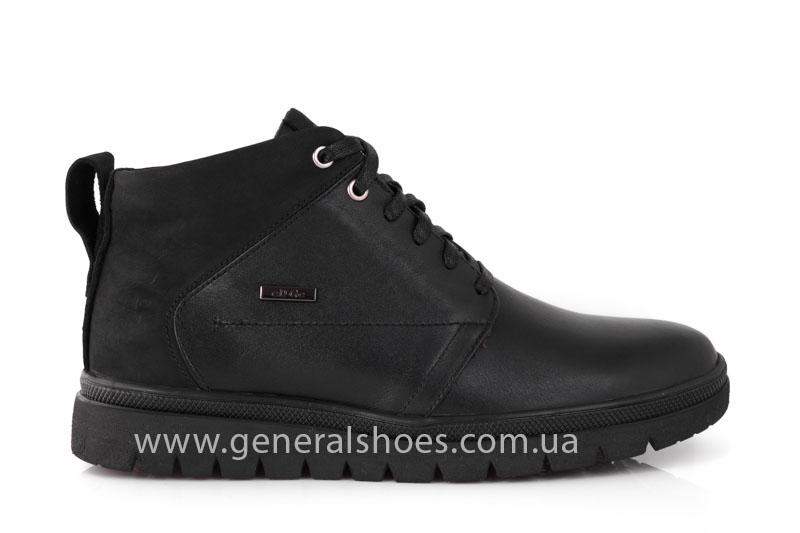 Мужские зимние ботинки Gex кожаные фото 2