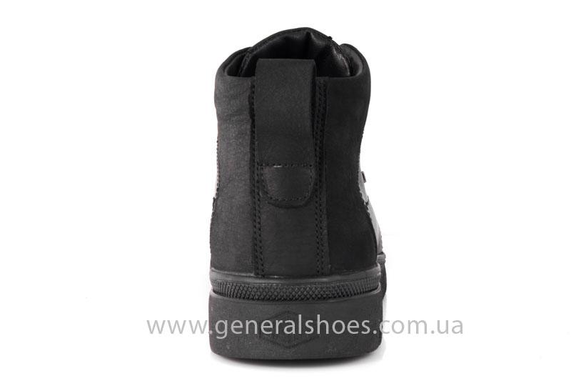 Мужские зимние ботинки Gex кожаные фото 4