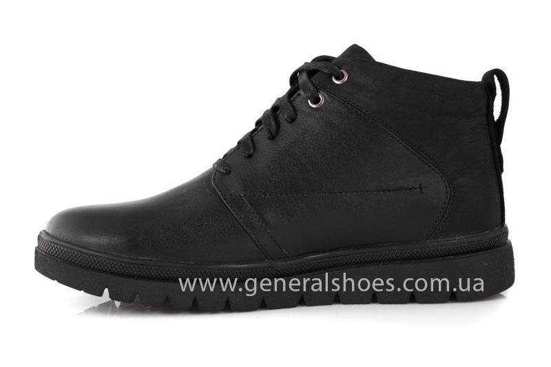 Мужские зимние ботинки Gex кожаные фото 5