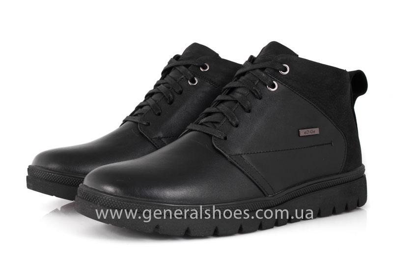 Мужские зимние ботинки Gex кожаные фото 9