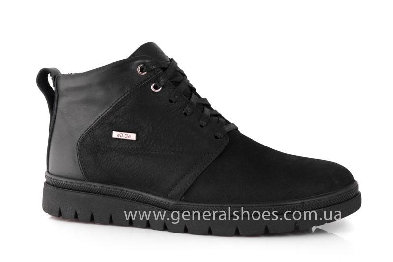 Мужские зимние ботинки Gex mat кожаные фото 1