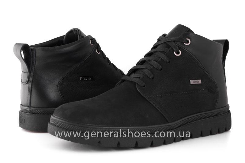 Мужские зимние ботинки Gex mat кожаные фото 10