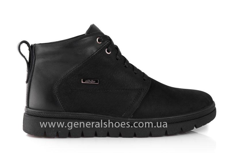 Мужские зимние ботинки Gex mat кожаные фото 2