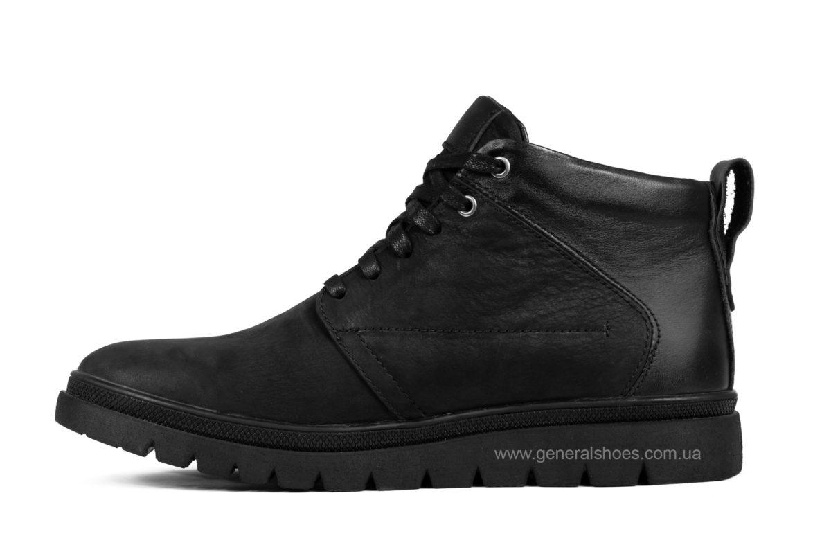 Мужские зимние ботинки Gex mat кожаные фото 3