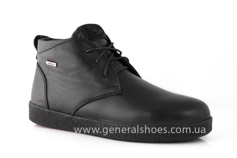 Мужские зимние ботинки Koss кожаные фото 1