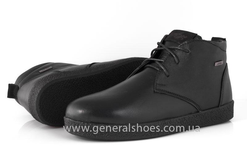 Мужские зимние ботинки Koss кожаные фото 10