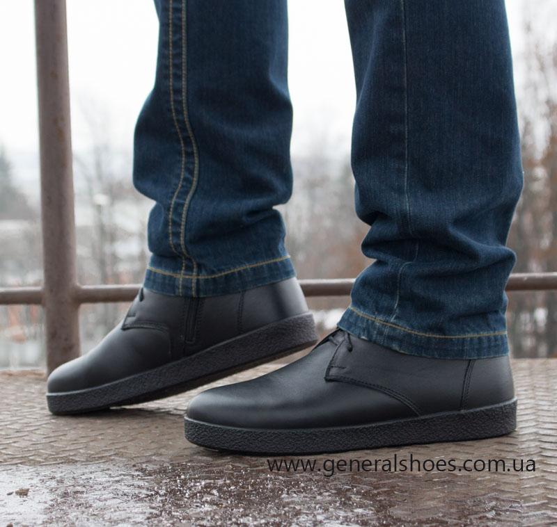 Мужские зимние ботинки Koss кожаные фото 11