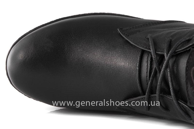 Мужские зимние ботинки Koss кожаные фото 6