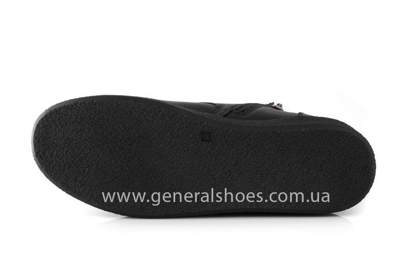 Мужские зимние ботинки Koss кожаные фото 7