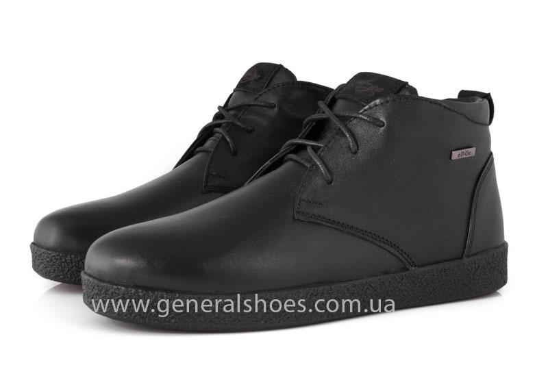 Мужские зимние ботинки Koss кожаные фото 8