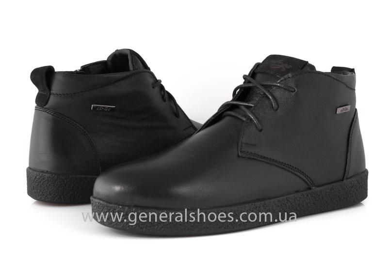 Мужские зимние ботинки Koss кожаные фото 9