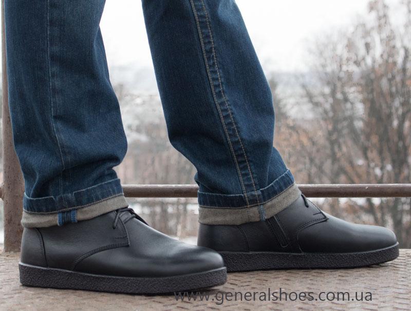 Мужские зимние ботинки Koss кожаные фото 12
