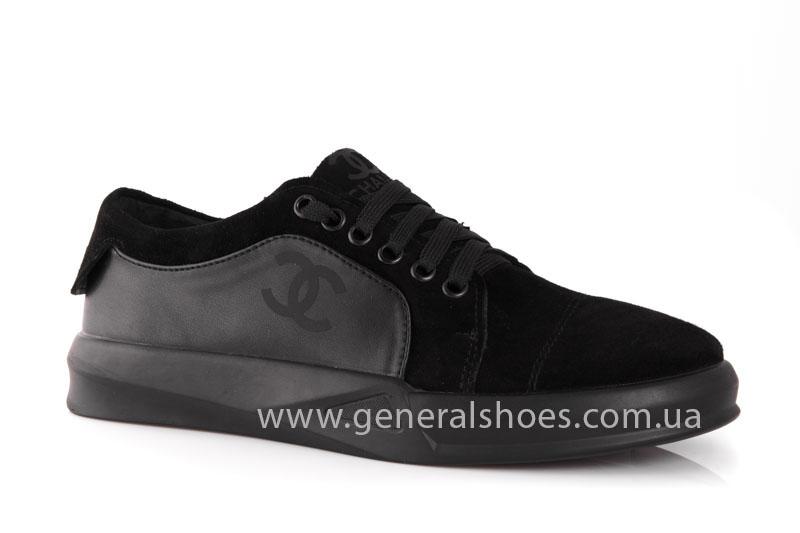 Кроссовки женские кожаные GL 140 черные фото 1